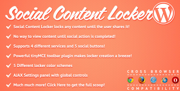 Photo of [Download] Social Content Locker for WordPress