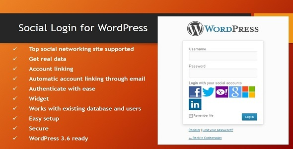 Photo of [Download] Social Login for WordPress