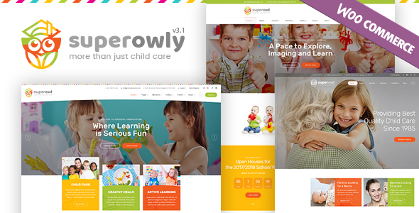 Photo of [Download] SuperOwly – Kids WordPress Theme