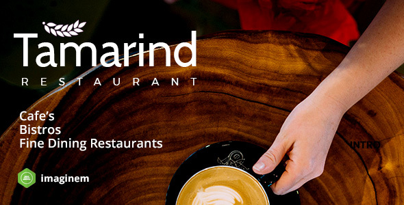 Photo of [Download] Tamarind Restaurant Theme for WordPress