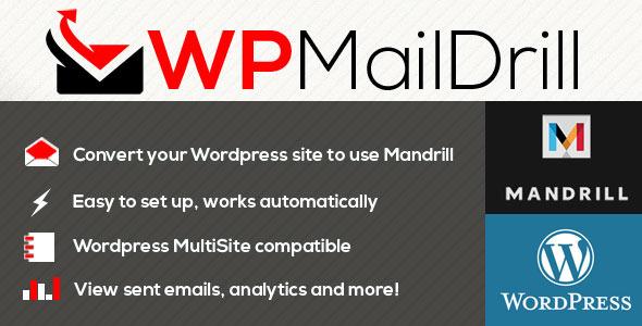 Photo of [Download] WPMailDrill – Mandrill For Wordpress