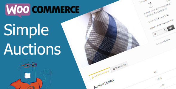 Photo of [Download] WooCommerce Simple Auctions – WordPress Auctions