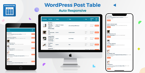 Photo of [Download] WordPress Post Table