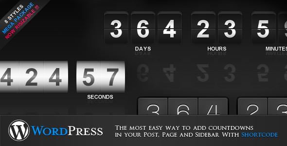 Photo of [Download] jCountdown Mega Package for WordPress