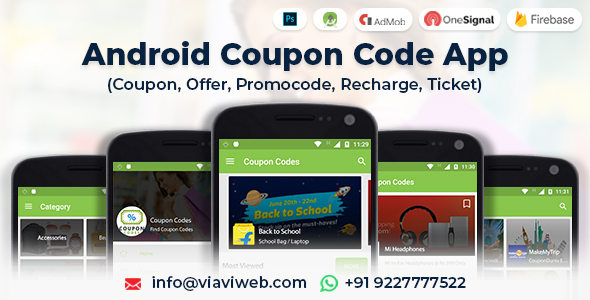 Photo of Get Android Coupon Code App (Coupon, Offer, Promocode, Recharge, Ticket) Download