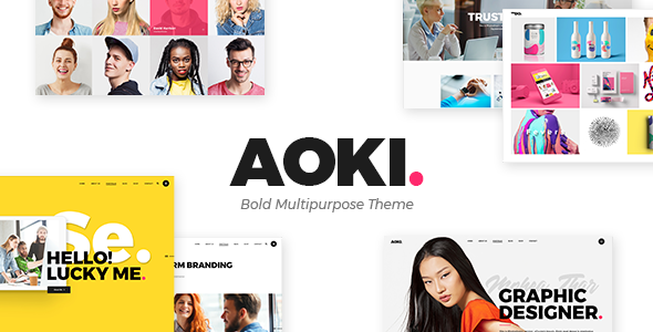 Photo of Get Aoki – Creative Design Agency Theme Download