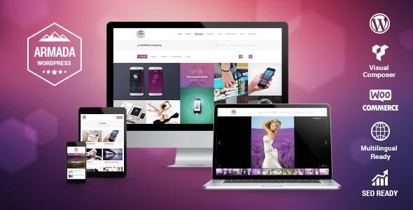 Photo of Get Armada — Multifunction Photography WordPress Theme Download