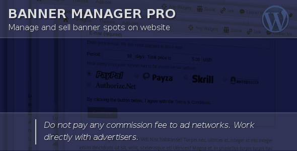 Photo of Get Banner Manager for WordPress Download