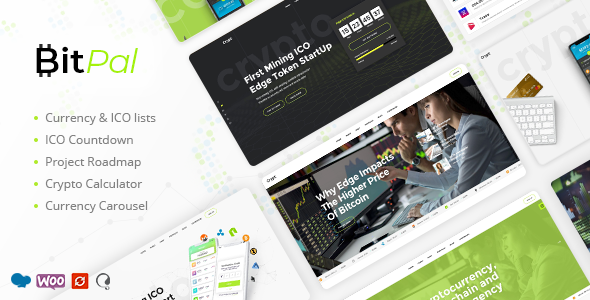 Photo of Get BitPal – Cryptocurrency WordPress Theme Download