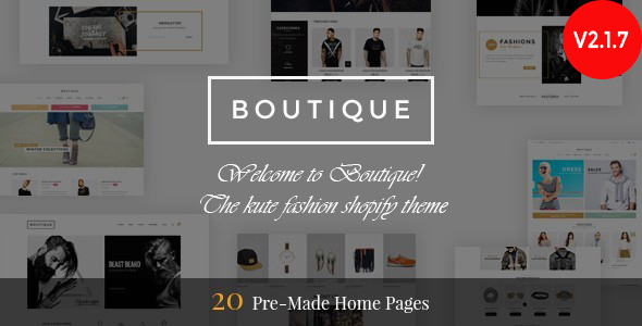 Photo of Get Boutique – Responsive Shopify Theme Download