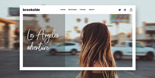 Photo of Get Brookside – Personal WordPress Blog Theme Download