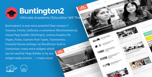 Photo of Get Buntington – Education WP Theme Download
