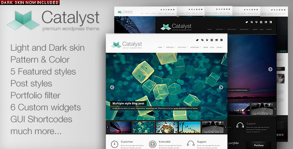 Photo of Get Catalyst Wordpress Portfolio Theme Download