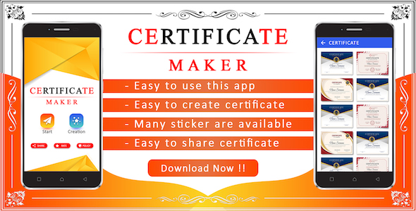 Photo of Get Certificate Maker App Download