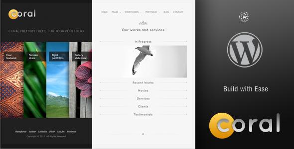 Photo of Get Coral Wordpress Theme Download