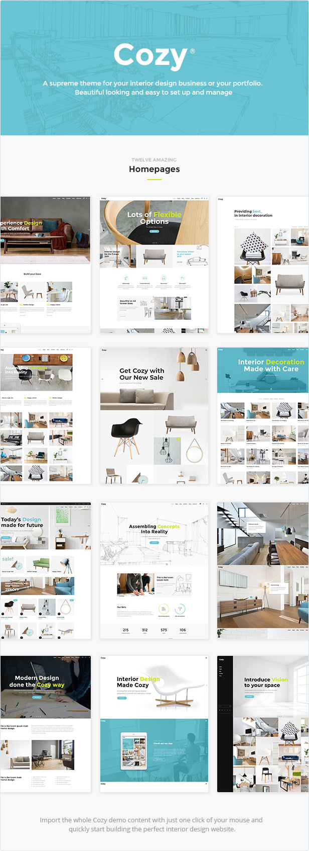 Cozy - Interior Design Theme - 1