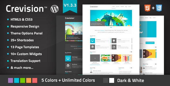 Photo of Get Crevision – Responsive WordPress Theme Download