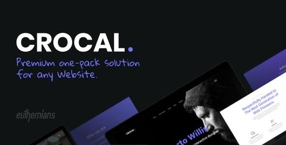 Photo of Get Crocal – Responsive Multi-Purpose WordPress Theme Download