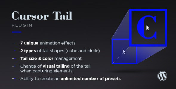 Photo of Get Cursor Tail for WordPress Download