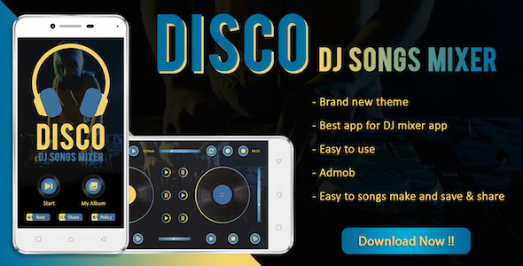 Photo of Get DISCO : DJ Songs Mixer App Download
