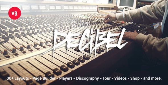 Photo of Get Decibel – Professional Music WordPress Theme Download