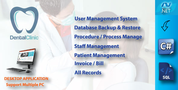 Photo of Get Dental Clinic Management System With Full Project & Source Code Download