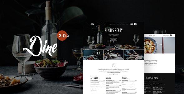 Photo of Get Dine – Elegant Restaurant Theme Download