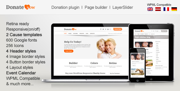 Photo of Get DonateNow | WordPress Theme for Charity Download