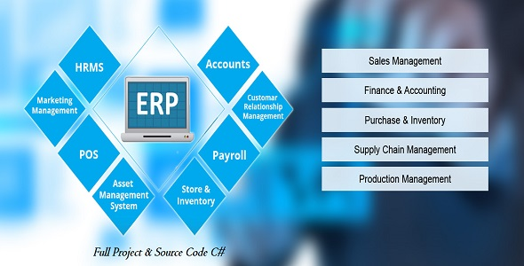 Photo of Get ERP 2 Full Project & Source Code C# New 2020 Download