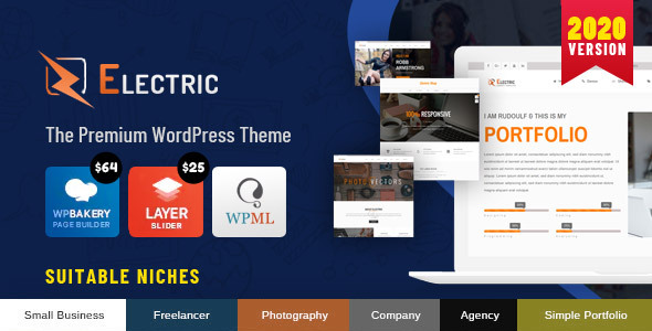 Photo of Get Electric – The WordPress Theme Download