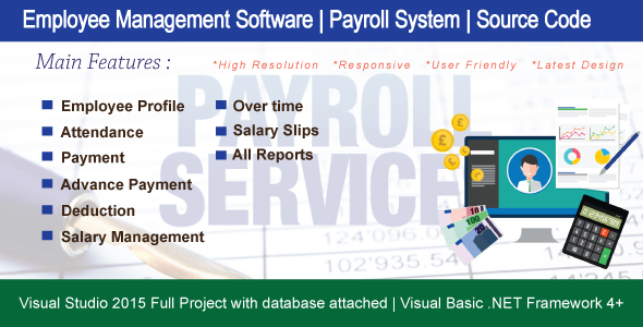 Photo of Get Employee Management ( Payroll System ) With Full Source Code Download