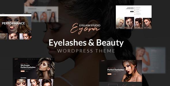 Photo of Get Eyora – Eyelash Extension & Lash Lift WordPress Theme Download