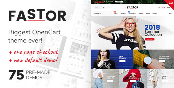 Photo of Get Fastor – Multipurpose Responsive Opencart Theme Download