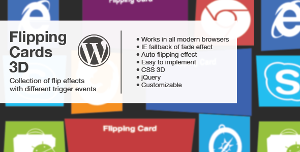Photo of Get Flipping Cards 3D – Wordpress Download
