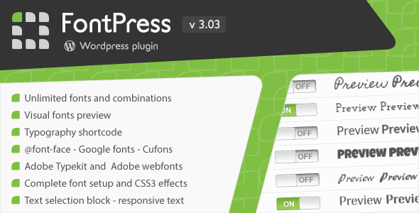 Photo of Get FontPress – Wordpress Font Manager Download