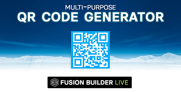 Photo of Get Fusion Builder Live Multi-Purpose QR Code Generator for Avada Live (v6+) Download