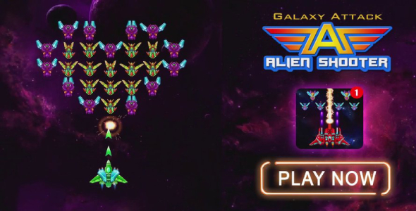 Photo of Get Galaxy Attack: Alien Shooter – Game Unity Project Download
