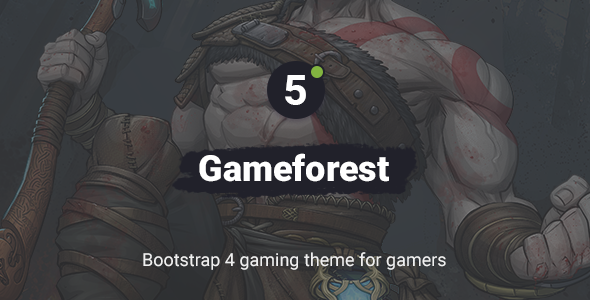 Photo of Get Gameforest – Bootstrap Gaming Theme Download