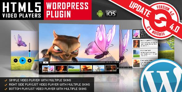Photo of Get HTML5 Video Player WordPress Plugin Download