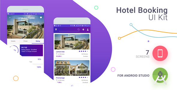 Photo of Get Hotel Booing UI KIT With XML Source Code Download