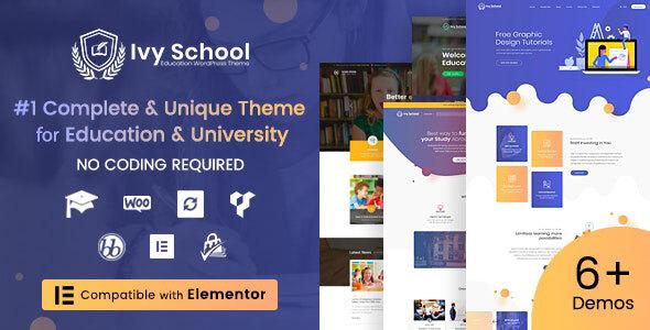 Photo of Get IvyPrep | Education & School WordPress Theme Download