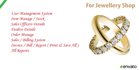 Photo of Get Jewellery Shop | Sales & Order Management System With Source Code Download
