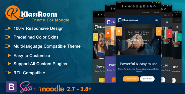 Photo of Get Klassroom – Premium Moodle Theme Download