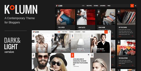 Photo of Get Kolumn – Blog Theme Download