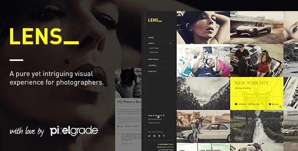 Photo of Get LENS – An Enjoyable Photography WordPress Theme Download