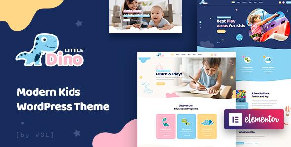 Photo of Get Littledino – Modern Kids WordPress Theme Download