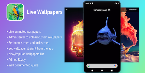 Photo of Get Live Wallpapers Android App – In-app Purchases Download