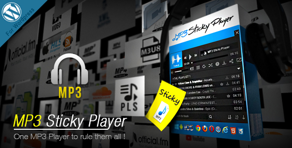 Photo of Get MP3 Sticky Player Wordpress Plugin Download