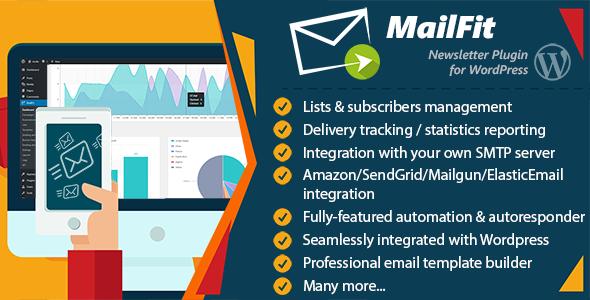 Photo of Get MailFit – Newsletter Plugin for Wordpress Download