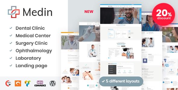 Photo of Get Medin – Medical Center WordPress Theme Download
